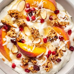 Fruit Salad With Honey Yogurt Dressing
